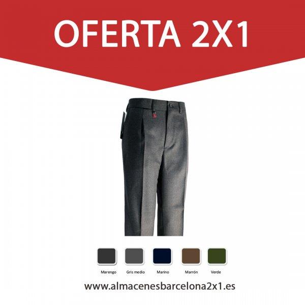 Pantalon lana serie bejar oferta