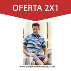 POLO MANGA CORTA 2X1 oferta