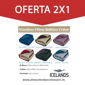 RELLENO NORDICO COLOR REVERSIBLE MODELO BALTICO oferta