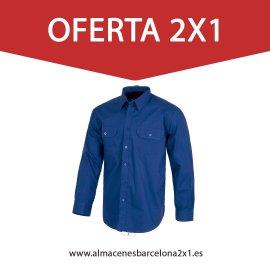 camisa azulina de trabajo oferta