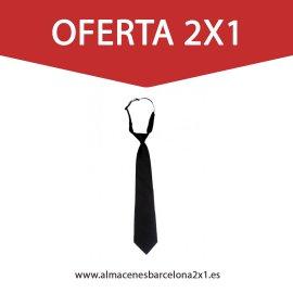 corbata negra oferta