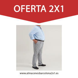 Pantalon Vestir Verano Tallas Especiales_oferta